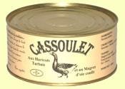 Cassoulet aux haricots tarbais