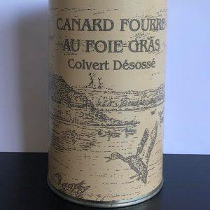 Canard Colvert fourré au foie gras
