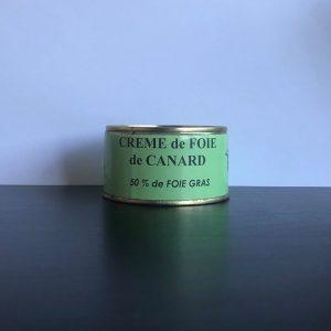Crème de foie gras de canard