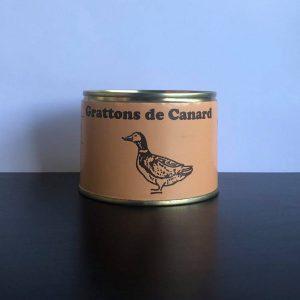 Grattons de canard