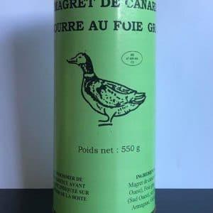 Magret de canard fourré au foie gras