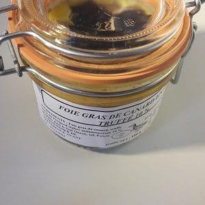 Foie gras de canard entier truffé à 10%